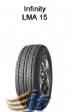 Neumático modelo 165/60R14  75H  LMA15  INFINITY